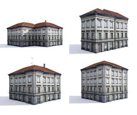建筑, 建筑配楼, 楼房, 住宅, 建筑外观