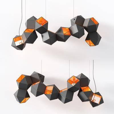 吊灯, 金属吊灯, 艺术吊灯, 异形吊灯, 工业风