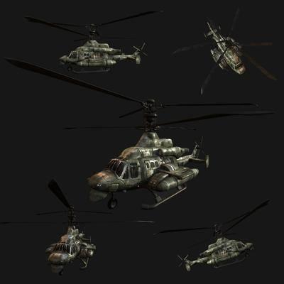 工业风, 直升机, 单体