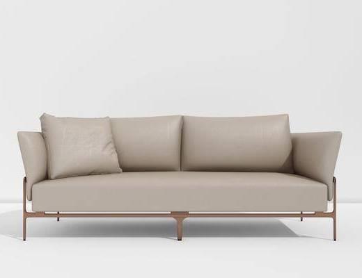 雙人沙發, 現代沙發