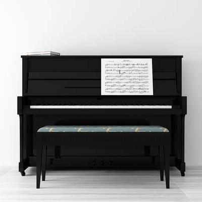 钢琴, 乐器, 音乐, 模型, 设备