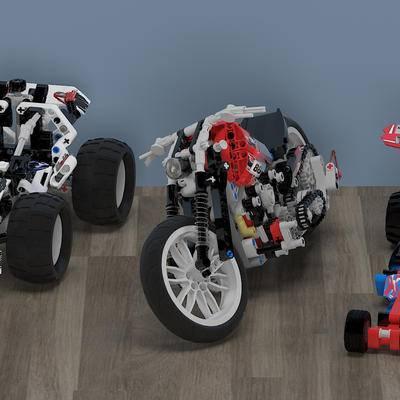 现代乐高方程式赛车, 玩具车