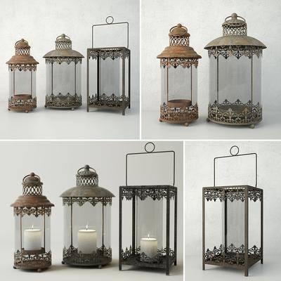 蜡烛台, 摆件, 装饰灯, 现代