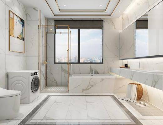 現代衛生間, 衛生間, 衛浴