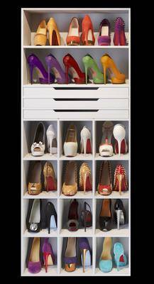 现代鞋柜, 鞋柜, 高跟鞋, 现代