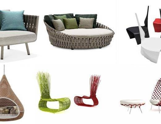 现代休闲椅, 休闲椅, 户外椅