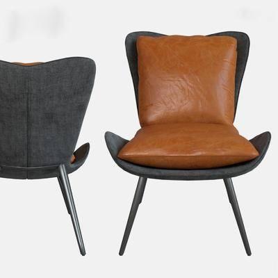 现代单椅, 单椅, 休闲椅