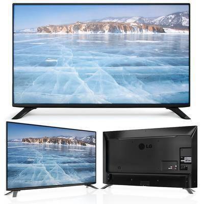 电视机, 电器, 屏幕, 现代
