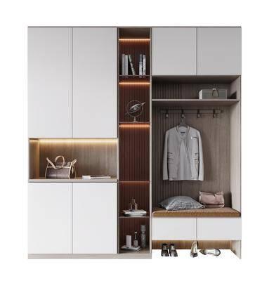 現代, 鞋柜, 柜架