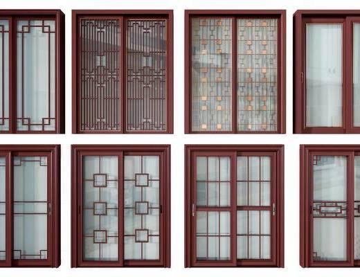 厨房门, 推拉门, 新中式