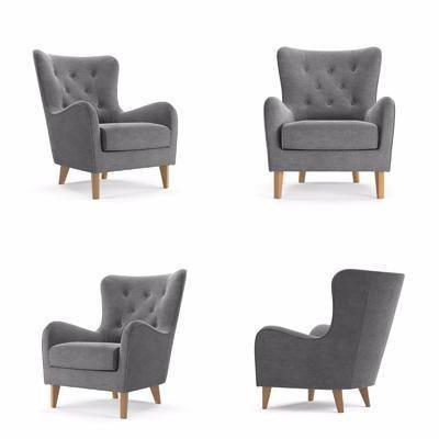 现代休闲椅, 休闲椅, 沙发椅