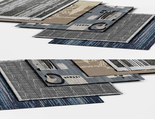地毯, 地毯组合, 现代