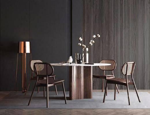 餐桌, 摆件, 花瓶