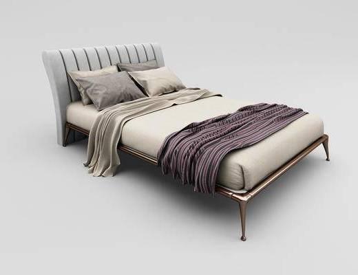 單人床, 床, 雙人床, 現代雙人床