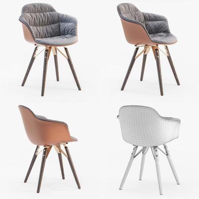 单人椅, 休闲椅, 北欧