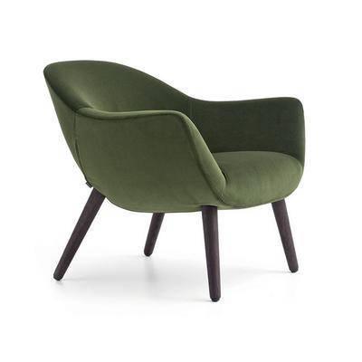 休闲椅, 单椅, 布艺, 椅子, 现代