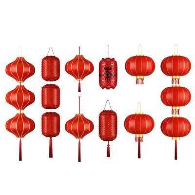 灯笼, 中式, 纸灯笼