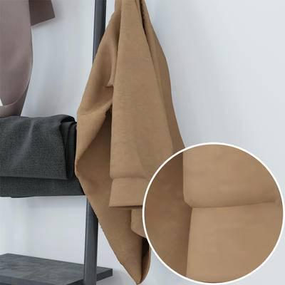 棉麻, 毛呢, 布藝材質, Vray材質