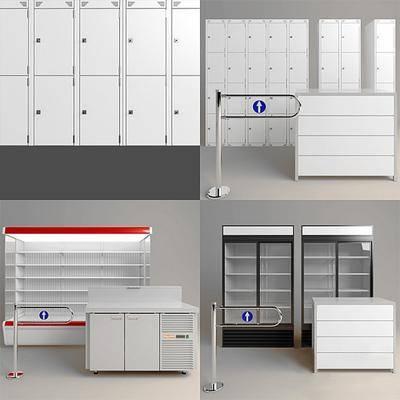柜子, 冰柜, 货柜, 现代