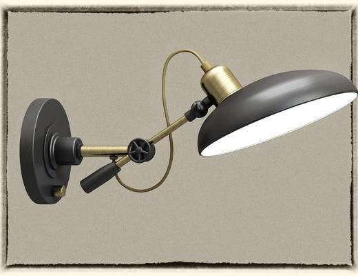 台灯, 灯具, 灯, 工业风
