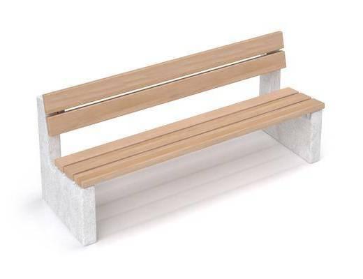 户外椅, 现代, 长椅