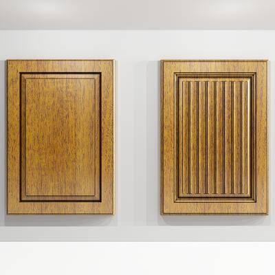 门板, 柜门, 现代, 实木, 木门