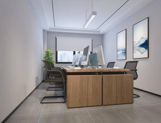 办公室, 现代办公室, 电脑桌