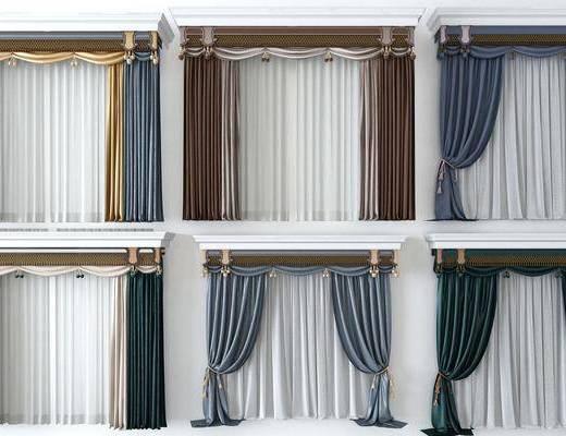 现代窗帘, 现代窗纱