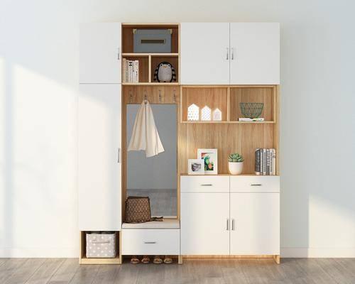 装饰柜, 衣柜, 摆件, 装饰品, 陈设品, 现代