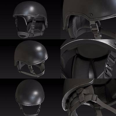 防弹头盔, 武器, 现代