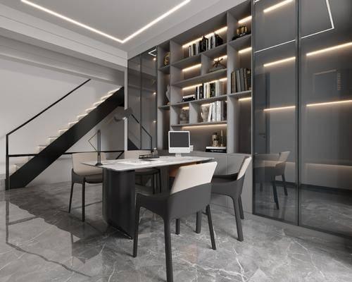 家装, 1, 现代书房