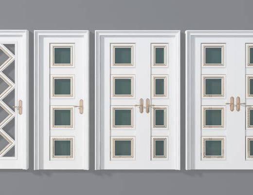 平开门, 现代房门