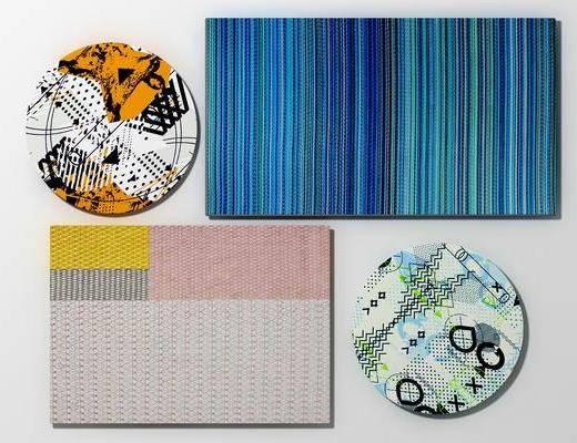 地毯组合, 造型地毯, 北欧