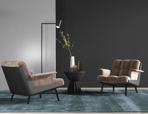 现代单椅, 椅子, 单椅, 休闲椅
