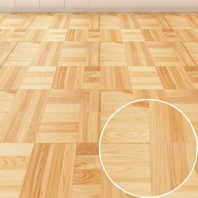 哑光木地板, 木地板