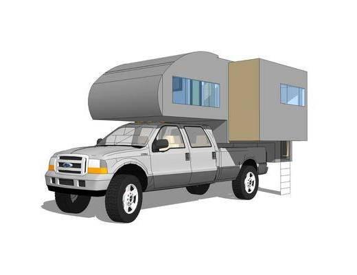 房车, 机动车, 汽车, 交通工具