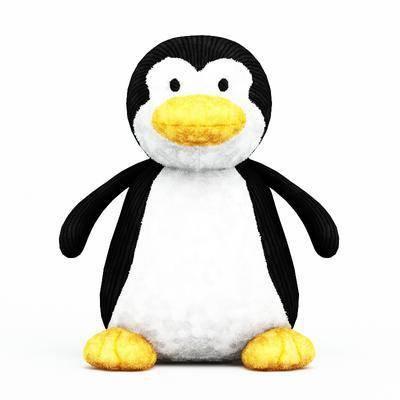 玩偶, 玩具, 企鹅