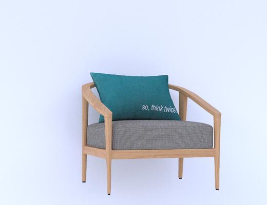 中式, 圈椅, 单椅, 单体