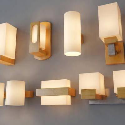 壁灯, 木质, 现代