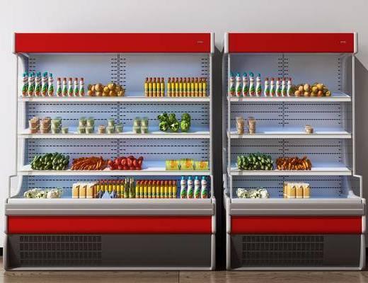 展示柜, 冰柜, 冷藏柜, 保鲜柜