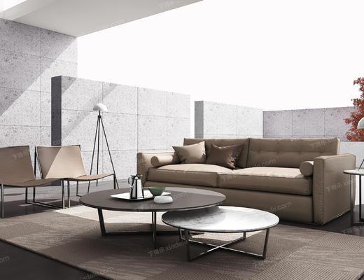 沙发组合, 沙发茶几组合, 多人沙发, 现代沙发, 北欧沙发, 茶几