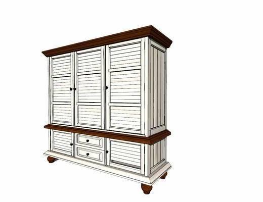 衣柜, 置物柜, 柜架组合