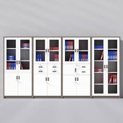 书柜, 文件柜, 文件夹, 现代