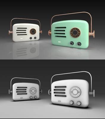 收音机, 蓝牙音箱, 猫王收音机, 现代收音机, 现代