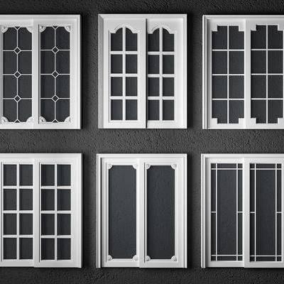 门构件, 构件, 门, 欧式门, 推拉门