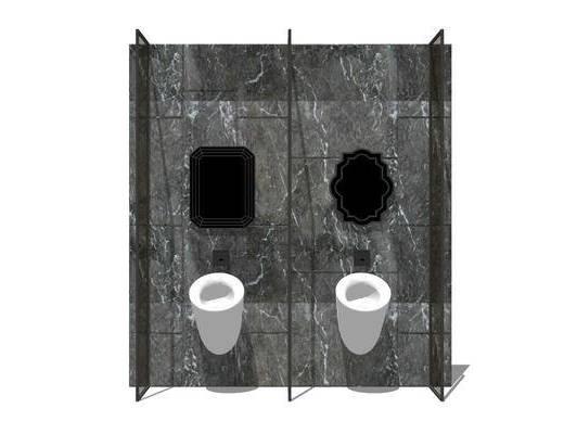 洗手盆, 卫浴组合, 壁镜
