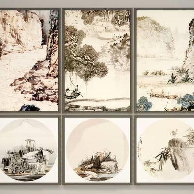 中式挂画, 中式装饰画