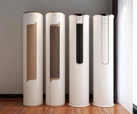 空调柜机, 空调风扇, 现代