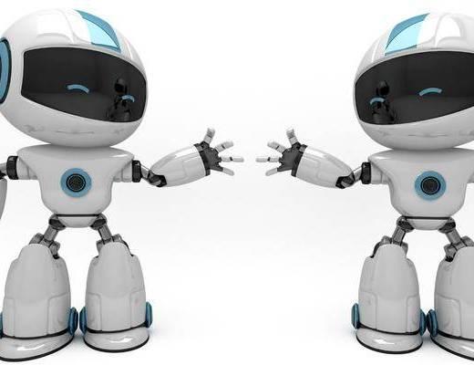 机器人, 摆件, 单体