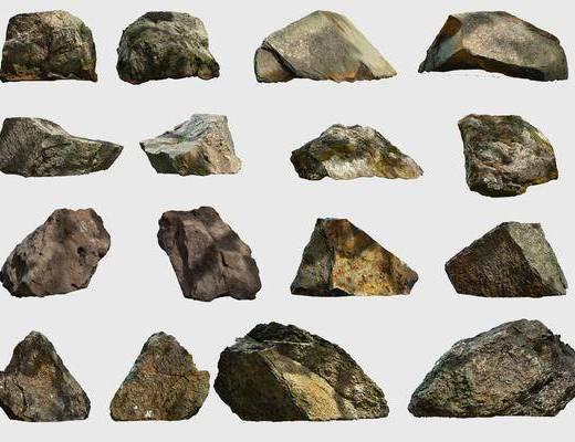 石头, 石块, 景观石